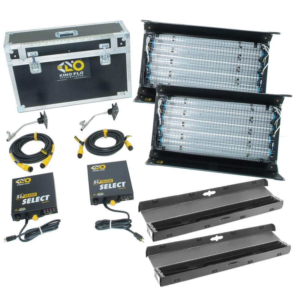 Kino flo interview select 2 fluorescent light kit kit 2nt 120 for Select light