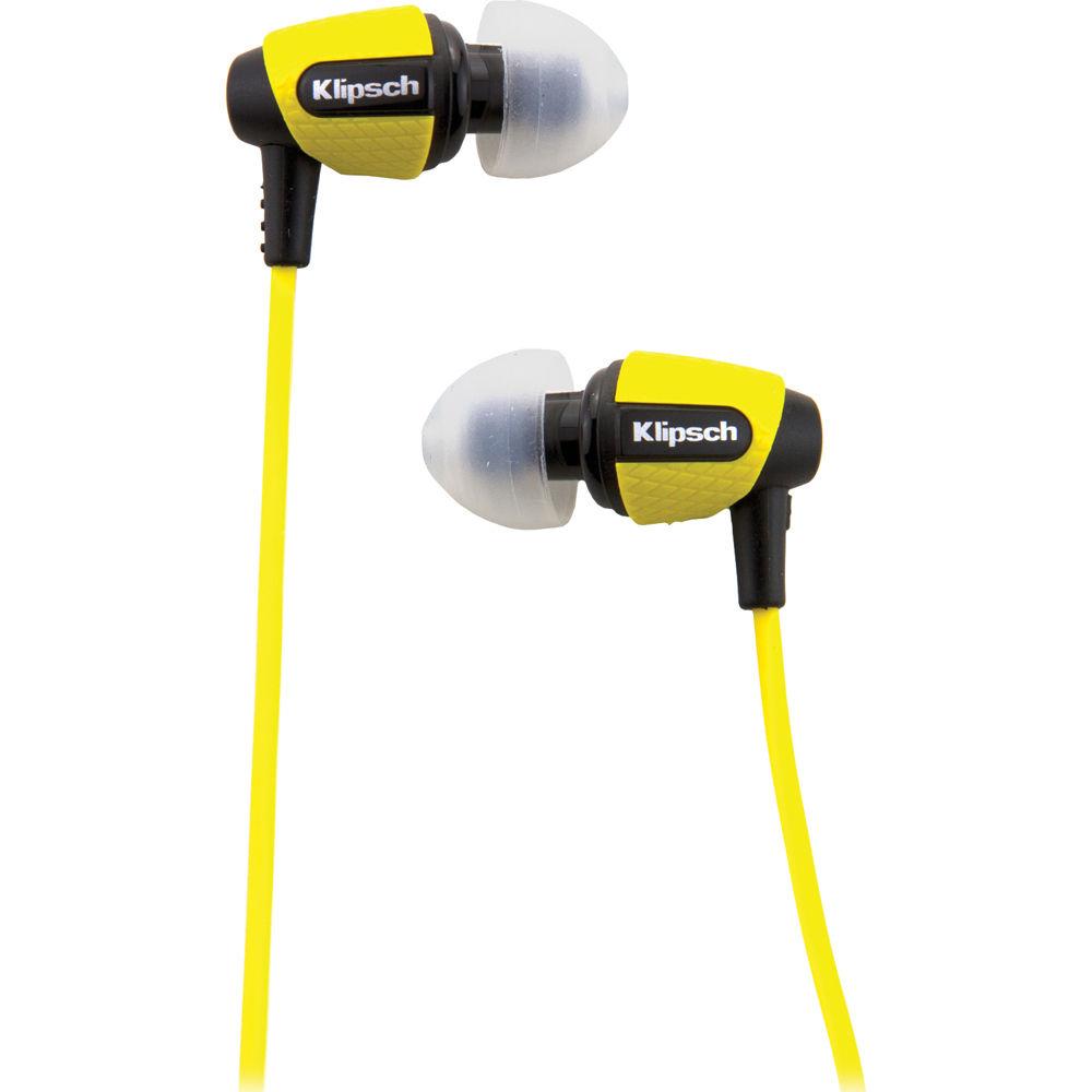 Klipsch earbuds s4i rugged - plugphones earbuds orange