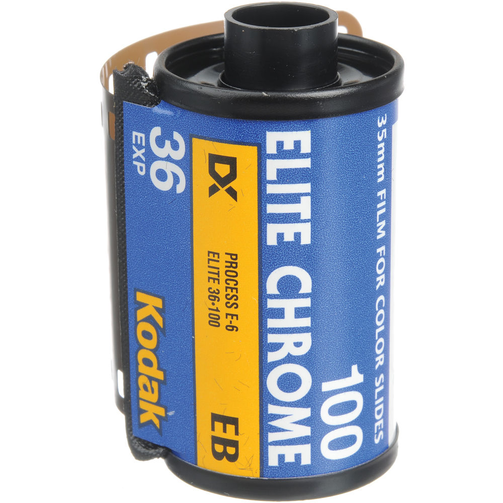 Kodak EB 135-36 Elite Chrome 100 Color Slide Film (ISO-100