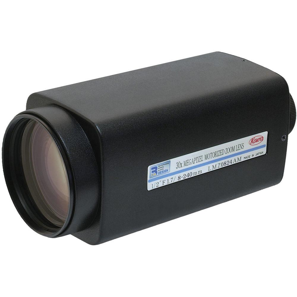 Kowa Lmz0824ampdc Xd Motorized Zoom Lens Lmz0824ampdc Xd B H