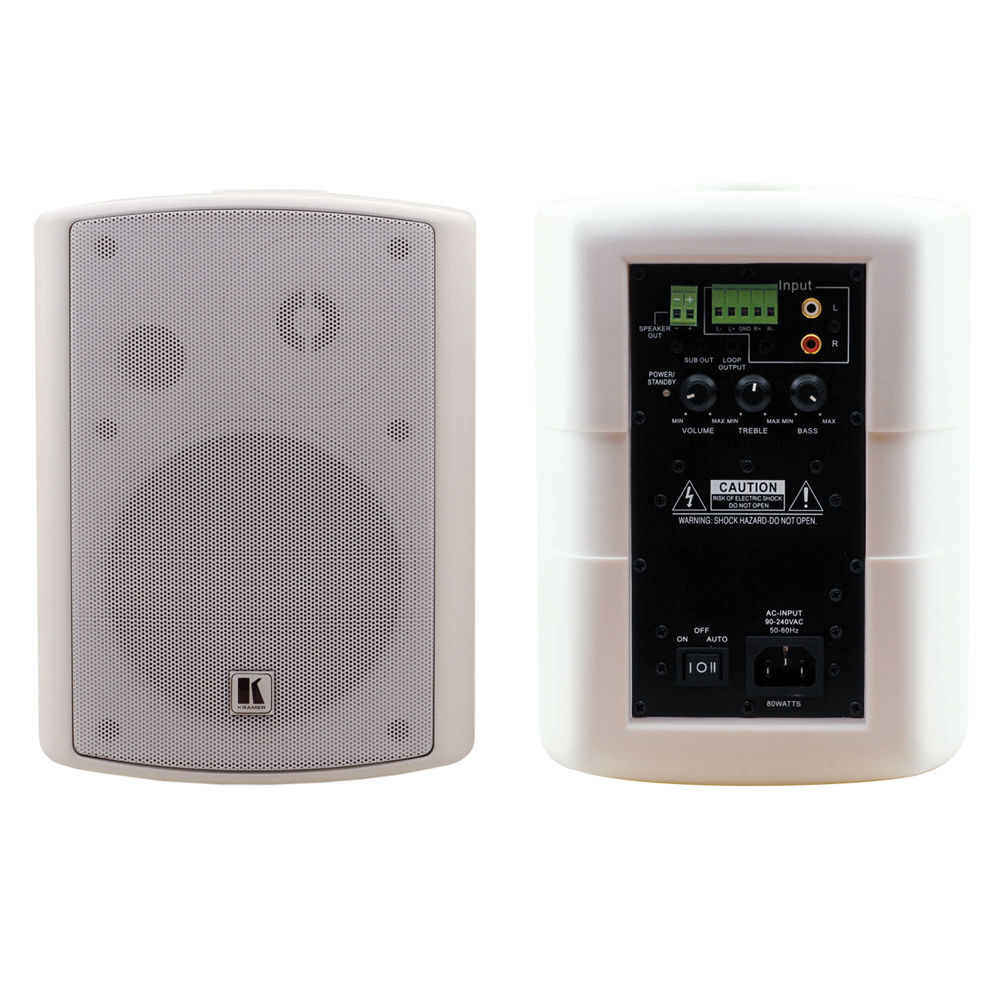 "Kramer Tavor 5-O 5.25"" 2-Way Active On-Wall Speakers ("