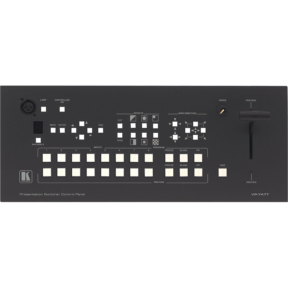 Kramer VP-747T Presentation Scaler-Switcher 64 BIT Driver