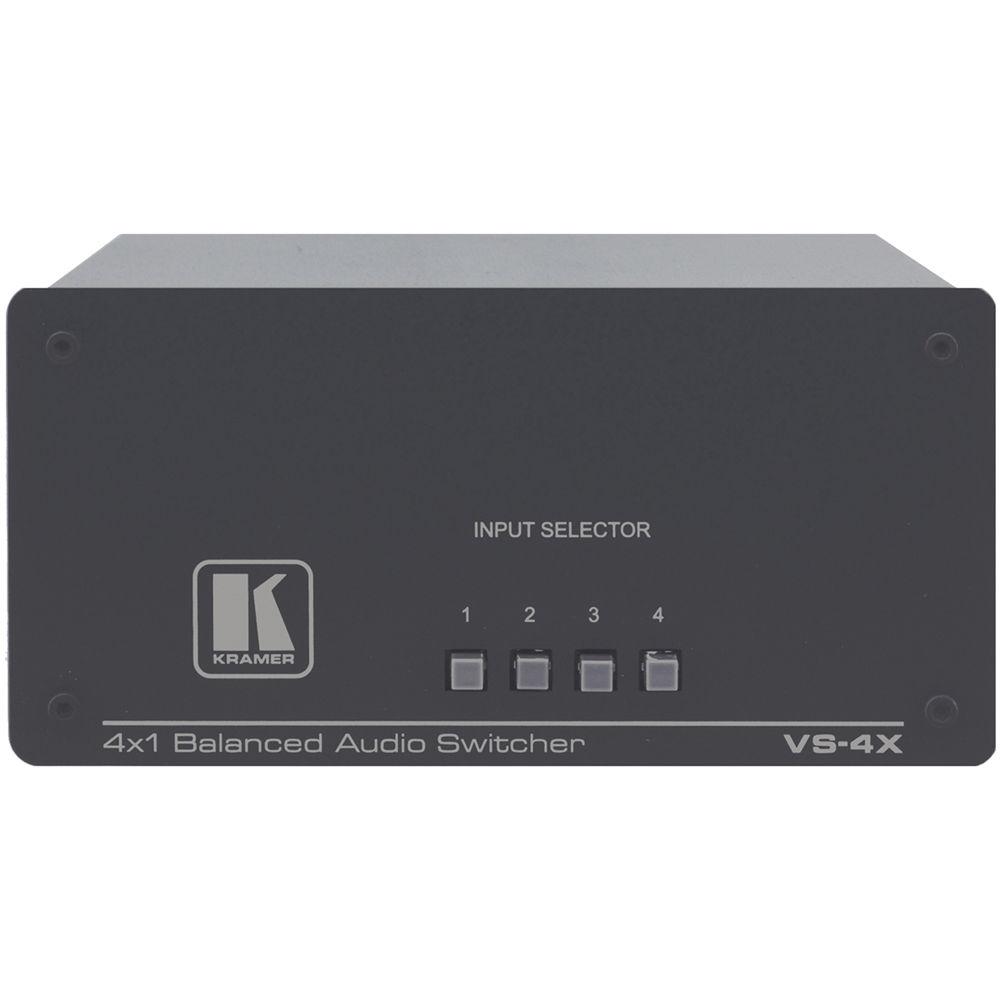 Balanced audio switcher
