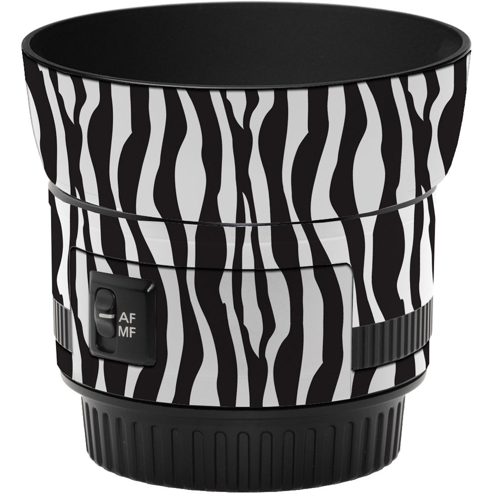 34c5b305ac16 LensSkins Lens Wrap for Canon 50mm f/1.8 II (Zebra (Wild Child))