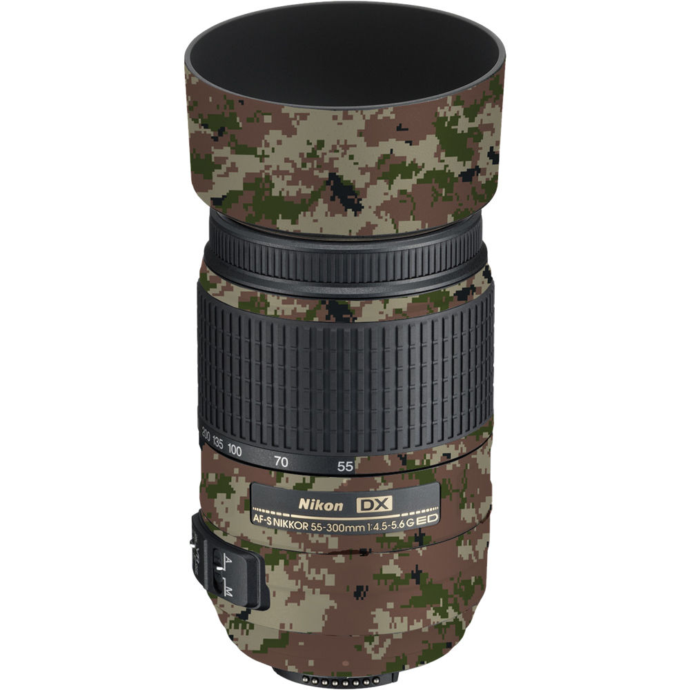 LensSkins Lens Skin for the Nikon 55-300mm LS-N553004GCA B&H