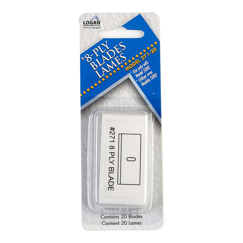 Logan Graphics 271 20 Replacement Blade Pack Of 20 271