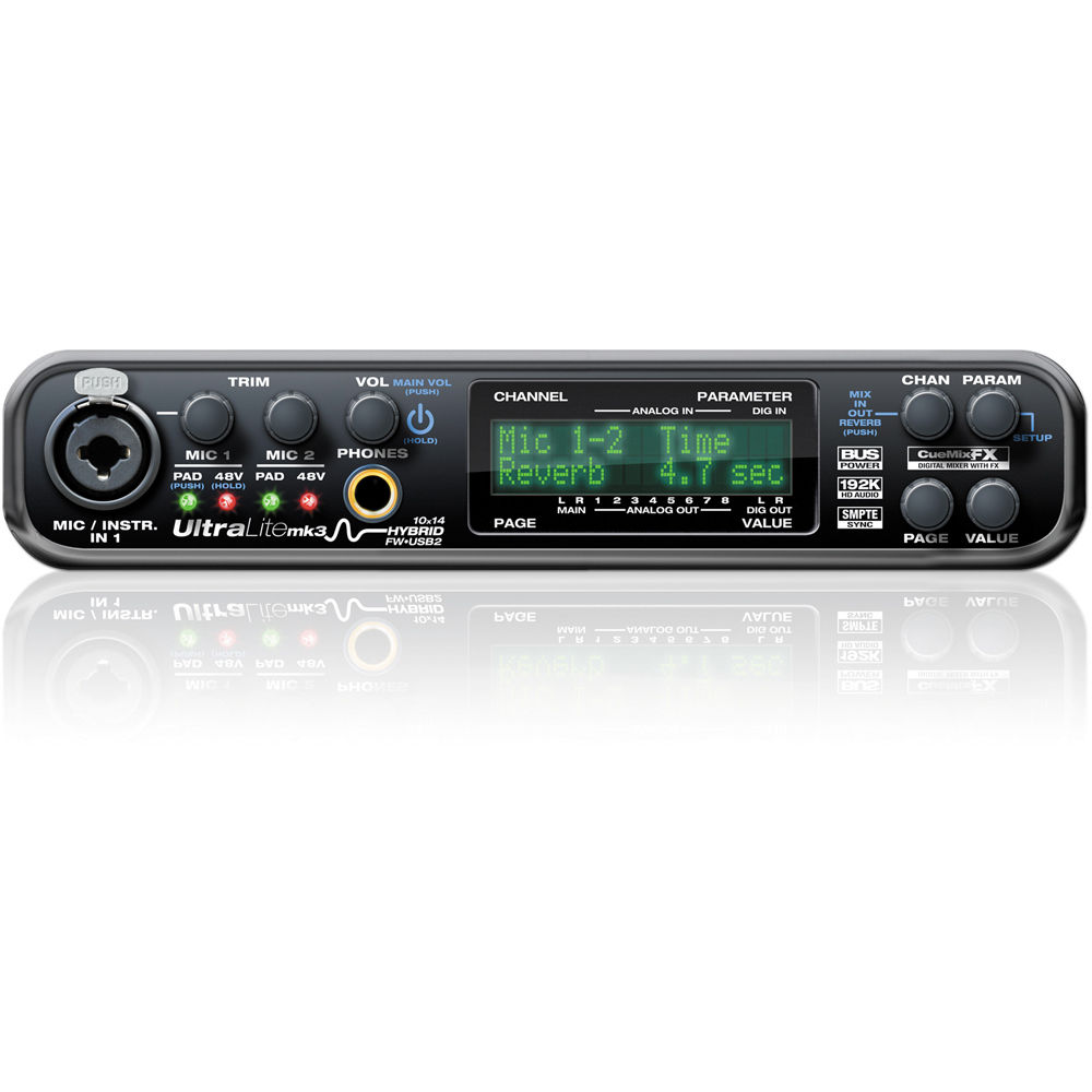 MOTU UltraLite-mk3 - Hybrid FireWire/USB 2.0 Audio & 8450