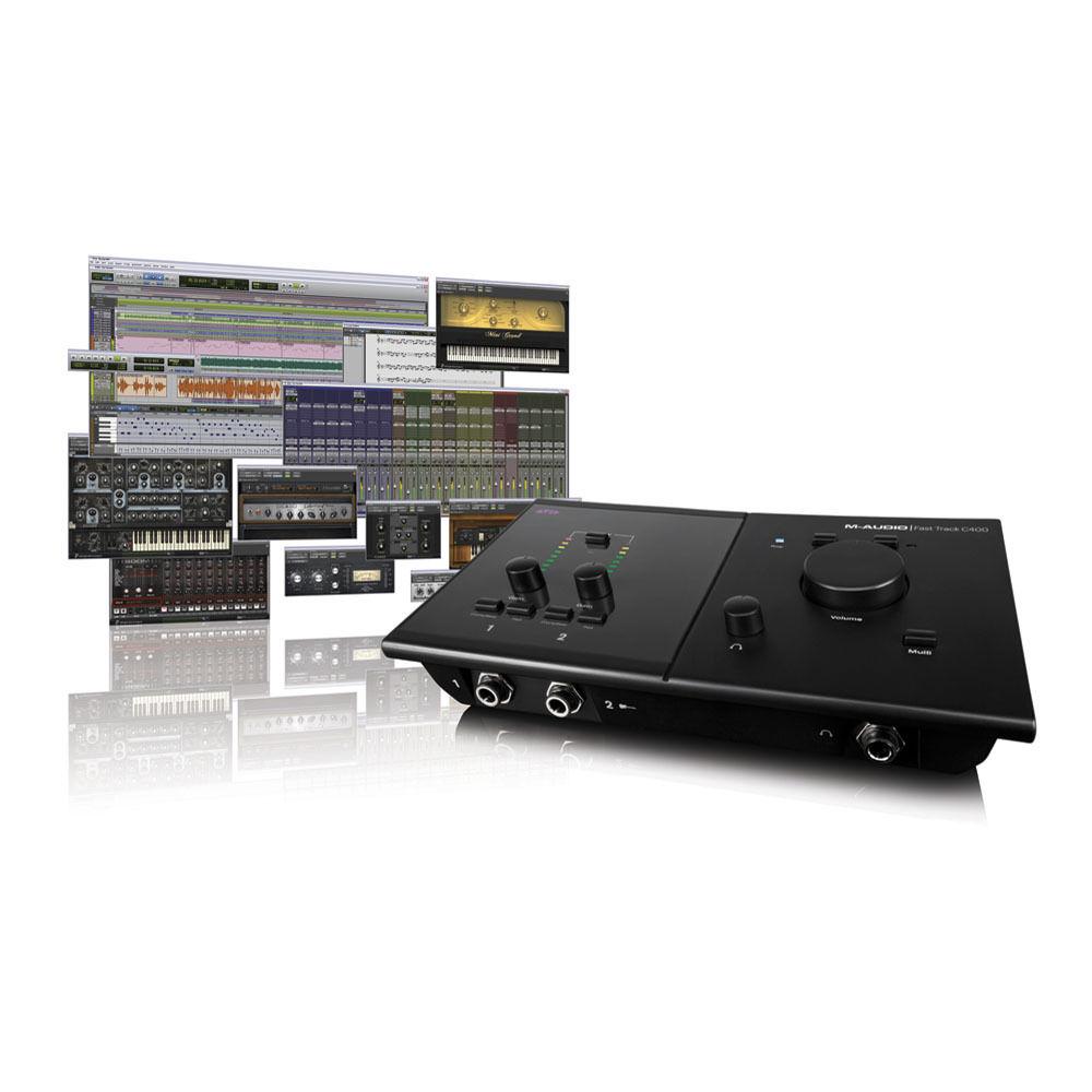 m audio pro tools mp fast track c400 software 9900 65163 12. Black Bedroom Furniture Sets. Home Design Ideas