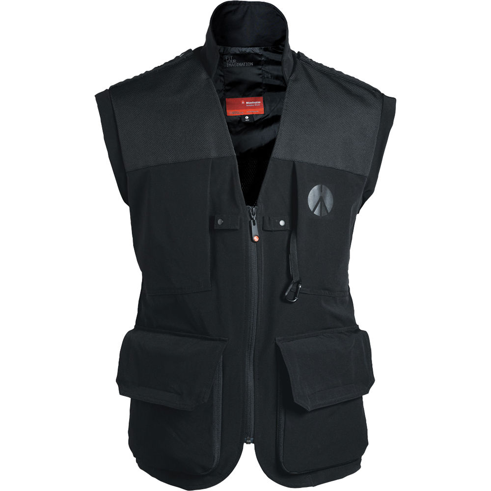 Manfrotto Lino Pro Photo Vest Men S Large Black Ma