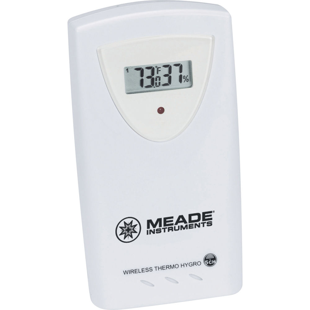 meade wireless remote temperature and humidity sensor