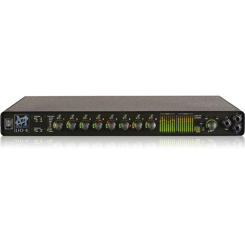 metric halo lio 8 line level digital audio converter 000 50007. Black Bedroom Furniture Sets. Home Design Ideas