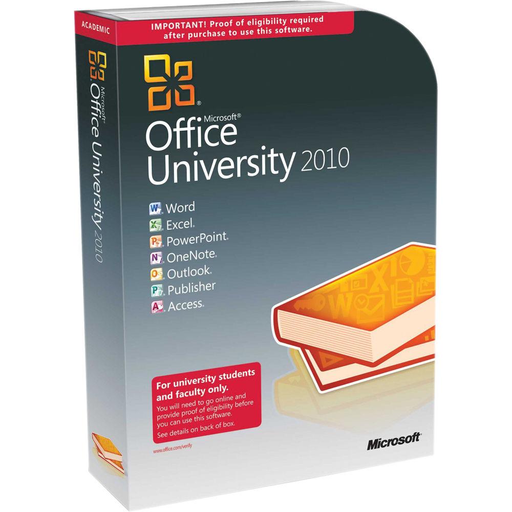 microsoft office university 2010 software service pack u6l. Black Bedroom Furniture Sets. Home Design Ideas