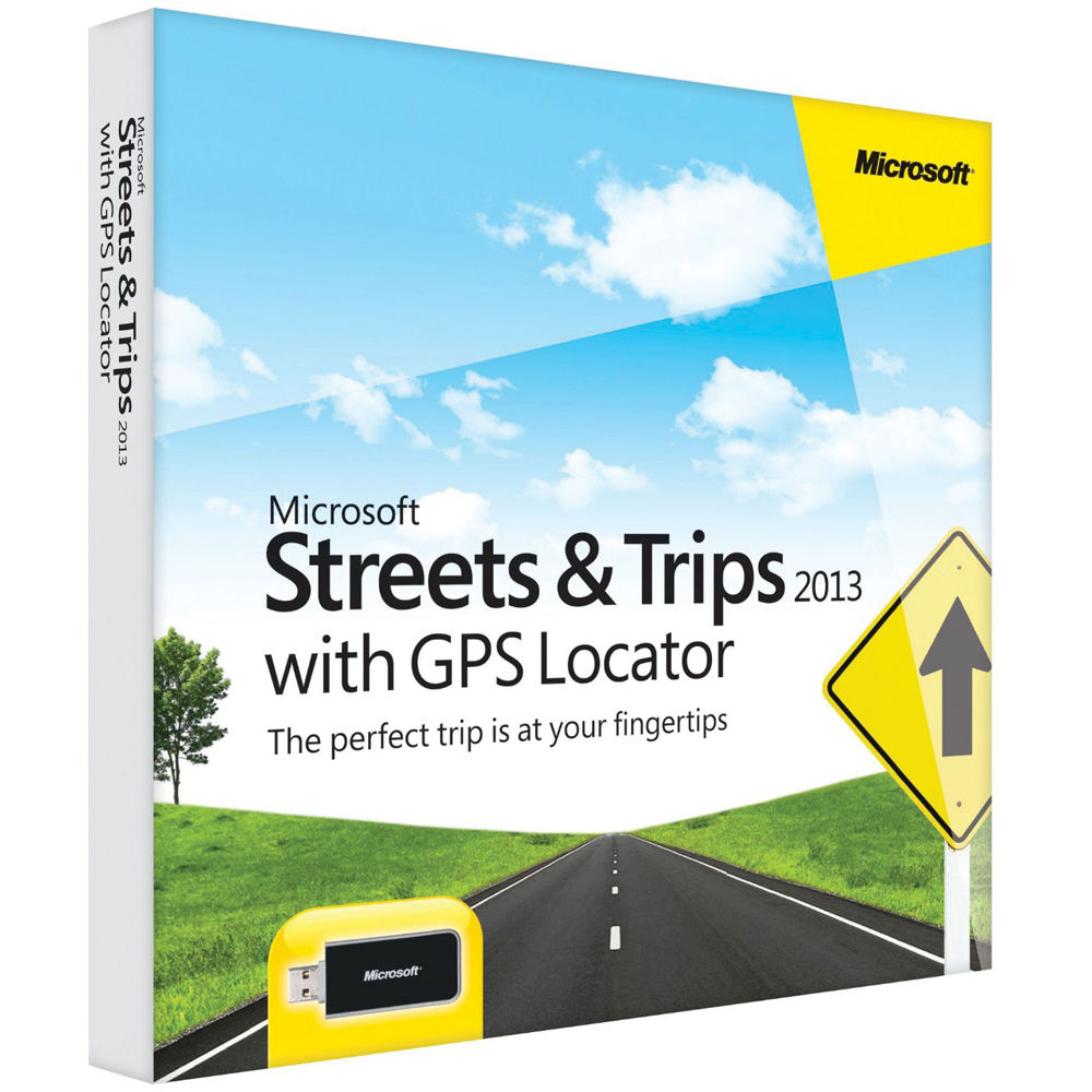 Microsoft streets and trips 2017 with 2017 map data s t