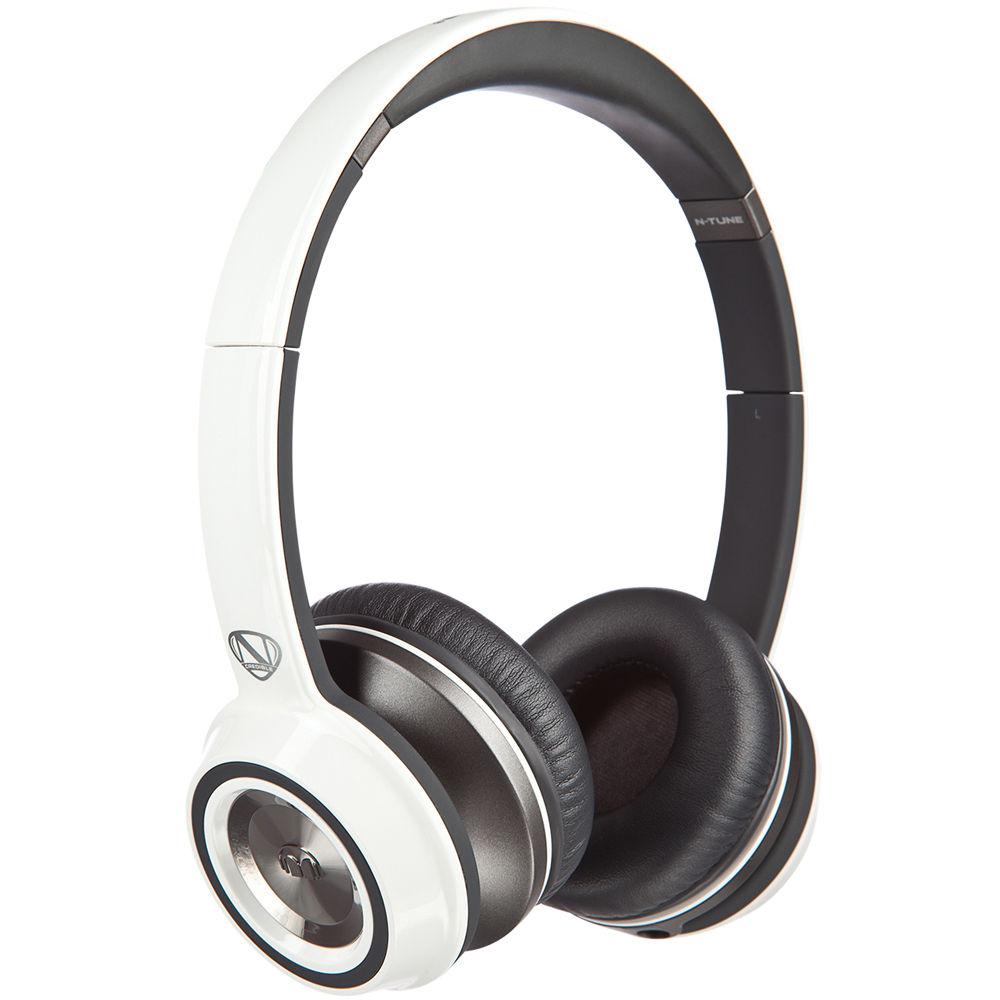363adc98513 Monster N-Tune On-Ear Headphones (Frost White) 128451-00 B&H