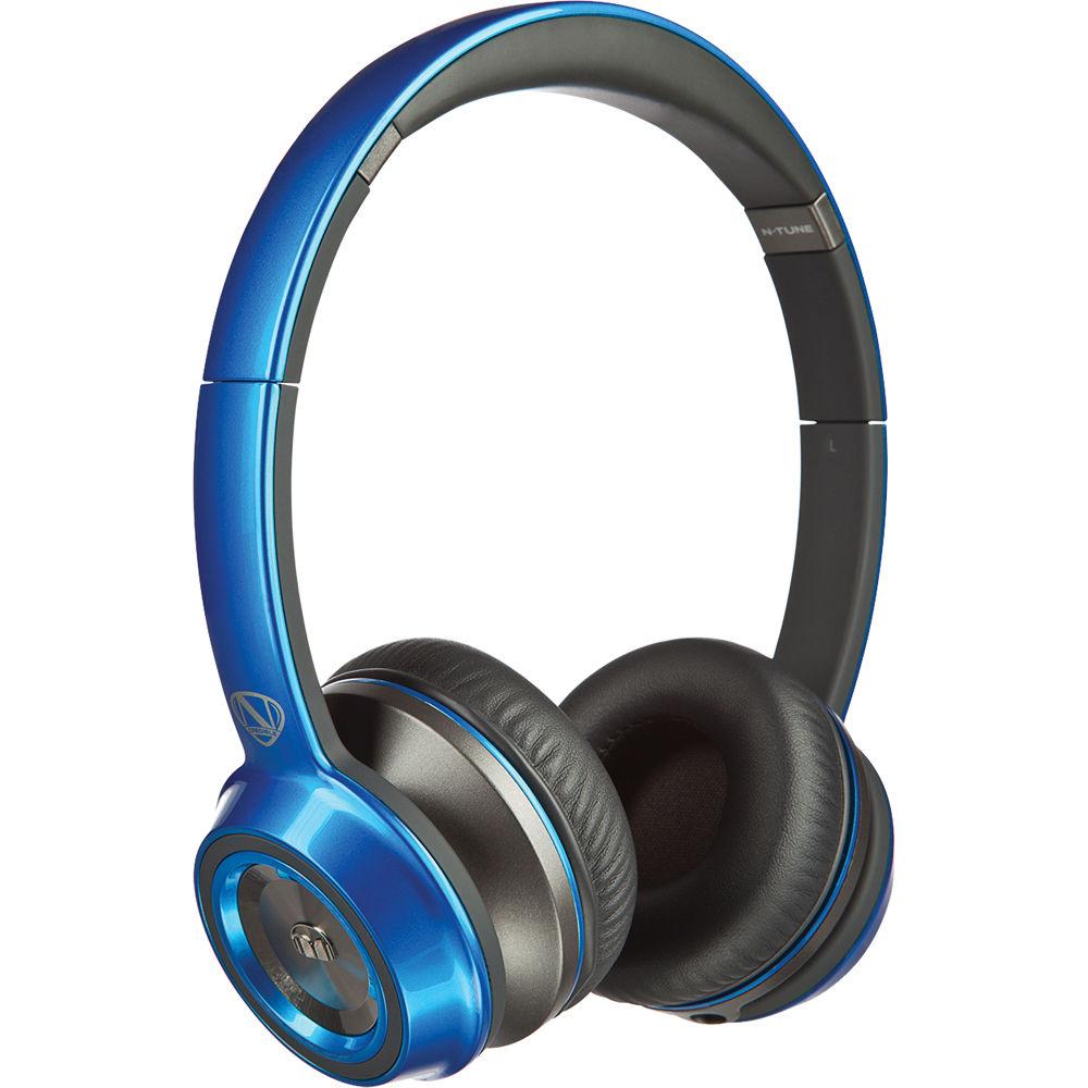 3ad2df0244e Monster N-Tune On-Ear Headphones (Cobalt Blue) 128452-00 B&H