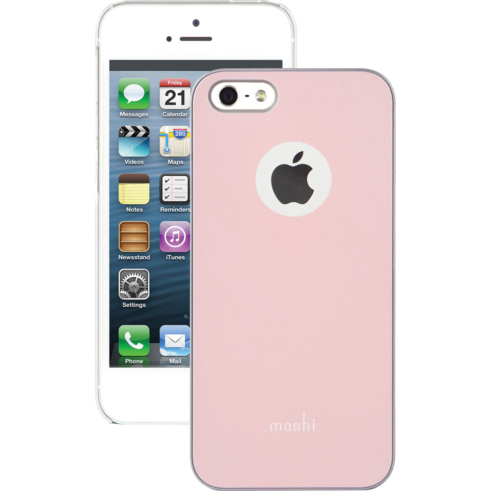 pink iphone 5s moshi iglaze for iphone 5 5s se champagne pink 12776