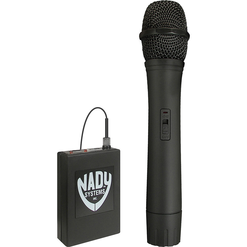 nady 351vr vhf wireless handheld microphone system 351vr ht a. Black Bedroom Furniture Sets. Home Design Ideas