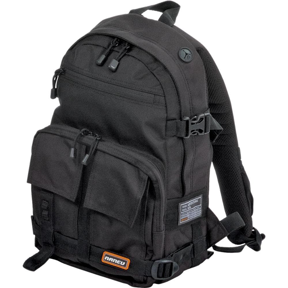 Naneu Military Ops Bravo Backpack (Black) BRV001 B&H Photo Video