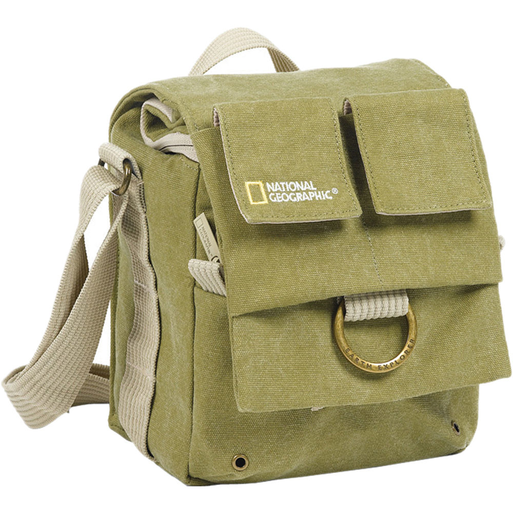 National Geographic Earth Explorer National Geographic 2344 Small Shoulder Bag (Khaki) 30