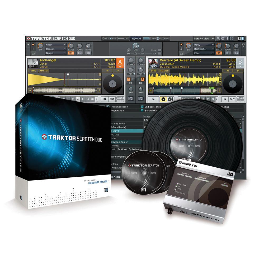 native instruments traktor pro digital mix dj software