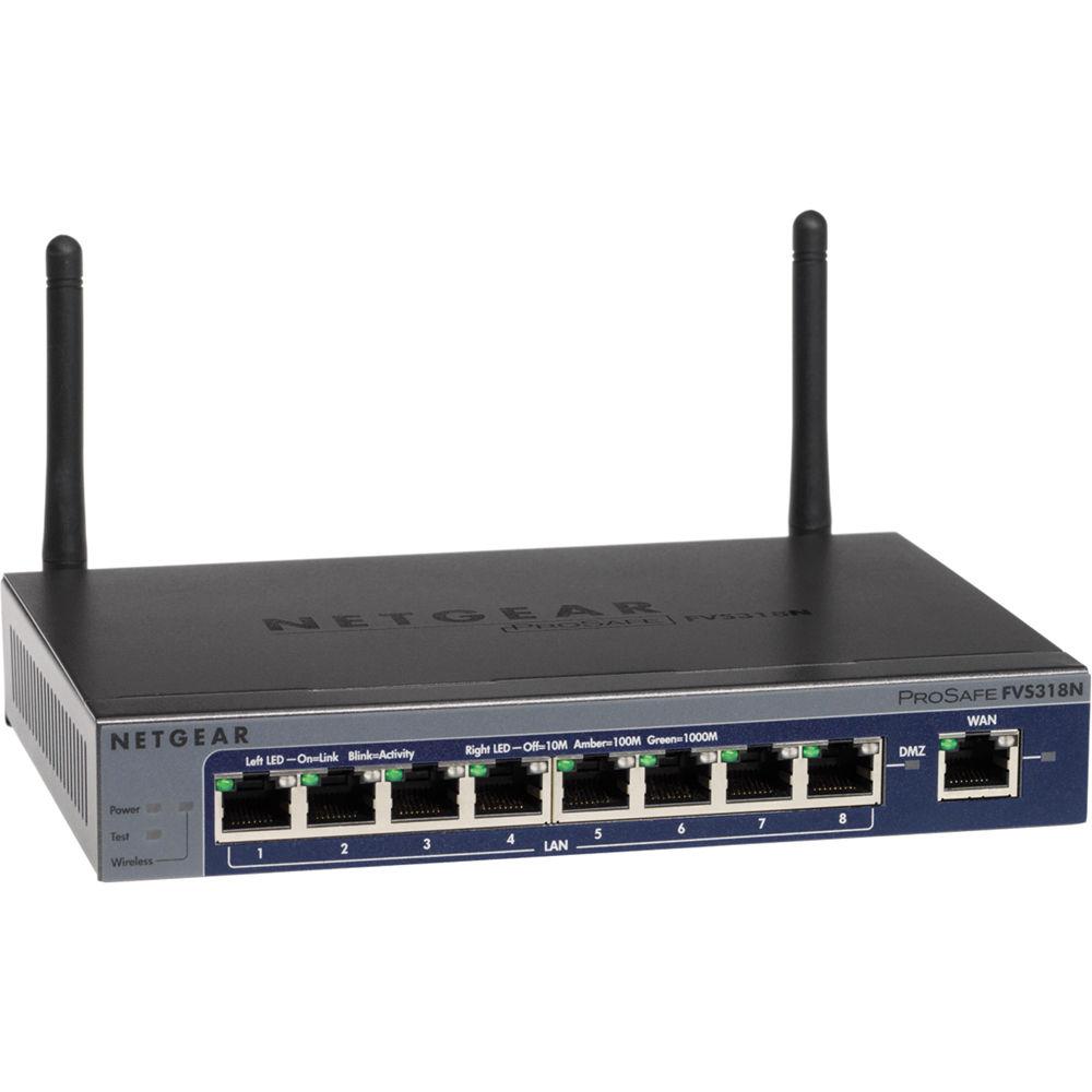 FVS318G – ProSAFE 8-port Gigabit VPN Firewall