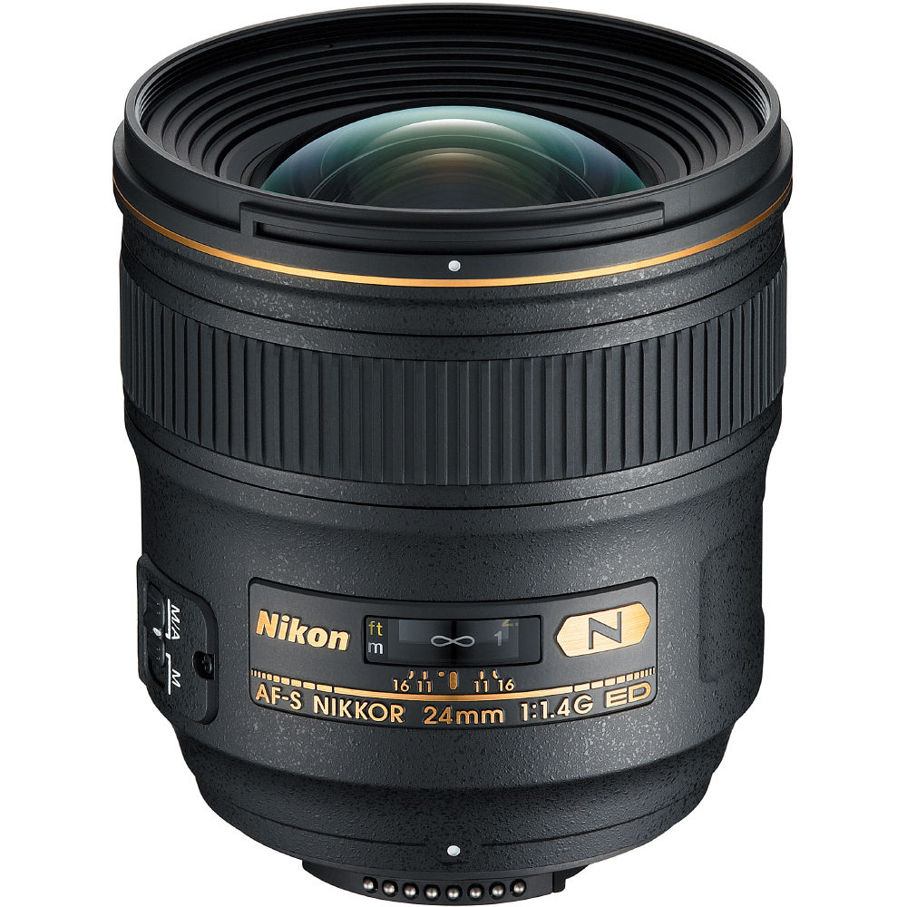 nikon af s nikkor 24mm f 1 4g ed lens 2184 b h photo