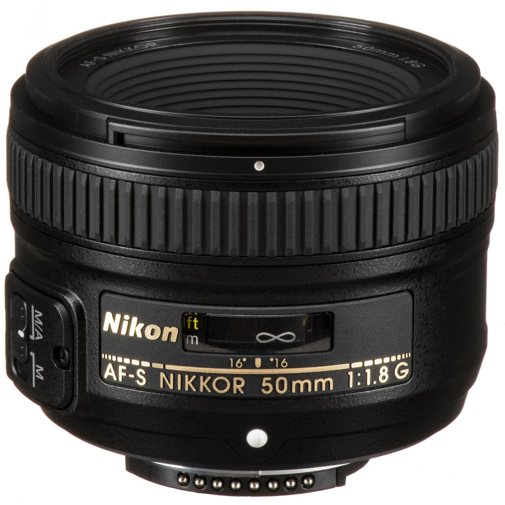 Nikon AF-S NIKKOR 50mm f/1.8G Lens 2199 B&H Photo Video
