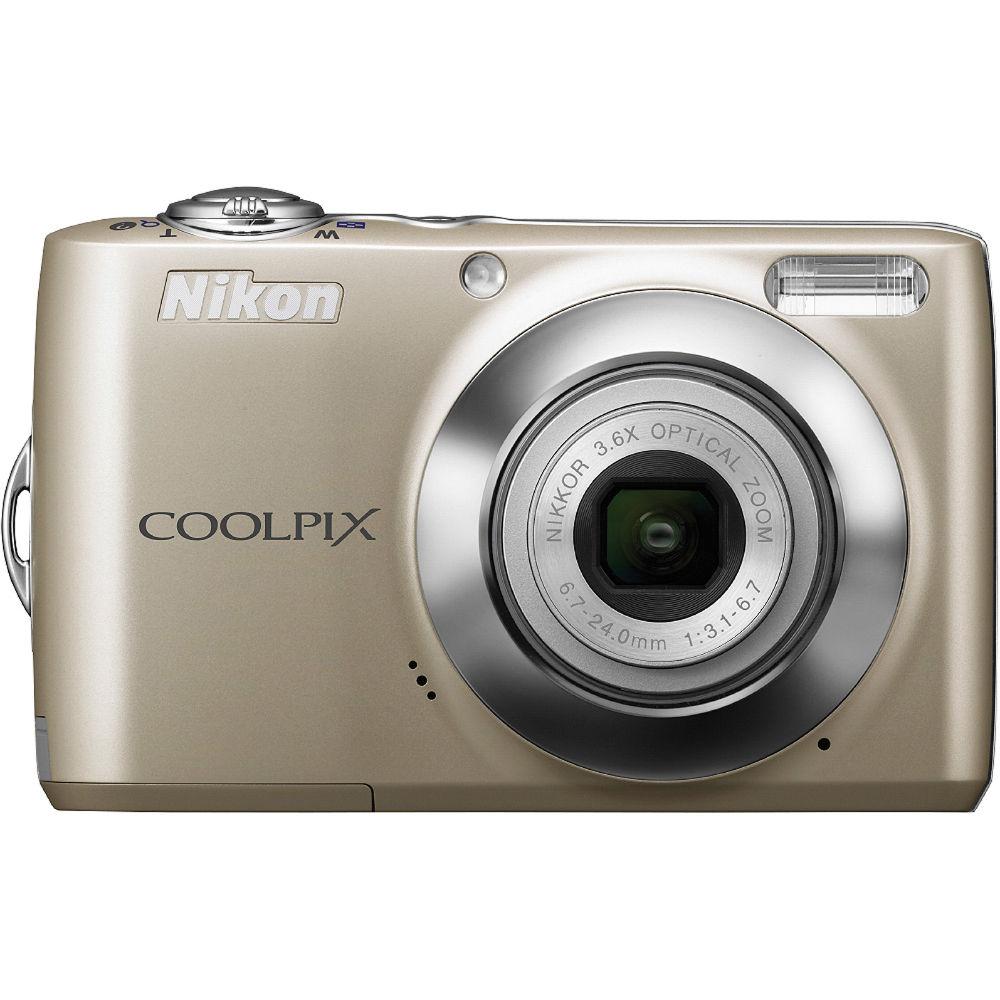 nikon coolpix l22 digital camera silver 26196 b h photo video rh bhphotovideo com Nikon Coolpix L22 Troubleshooting Nikon Coolpix L22 Camera