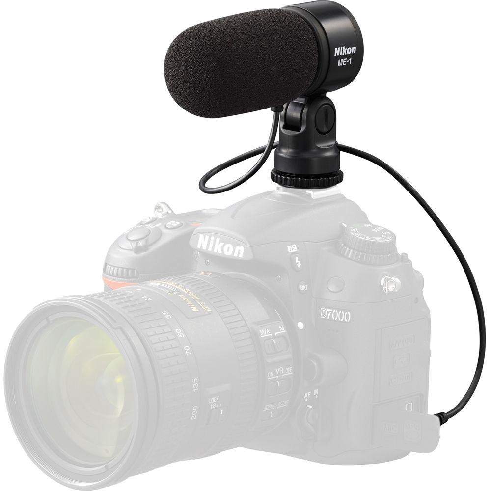 nikon me 1 stereo microphone 27045 b h photo video nikon me 1 stereo microphone
