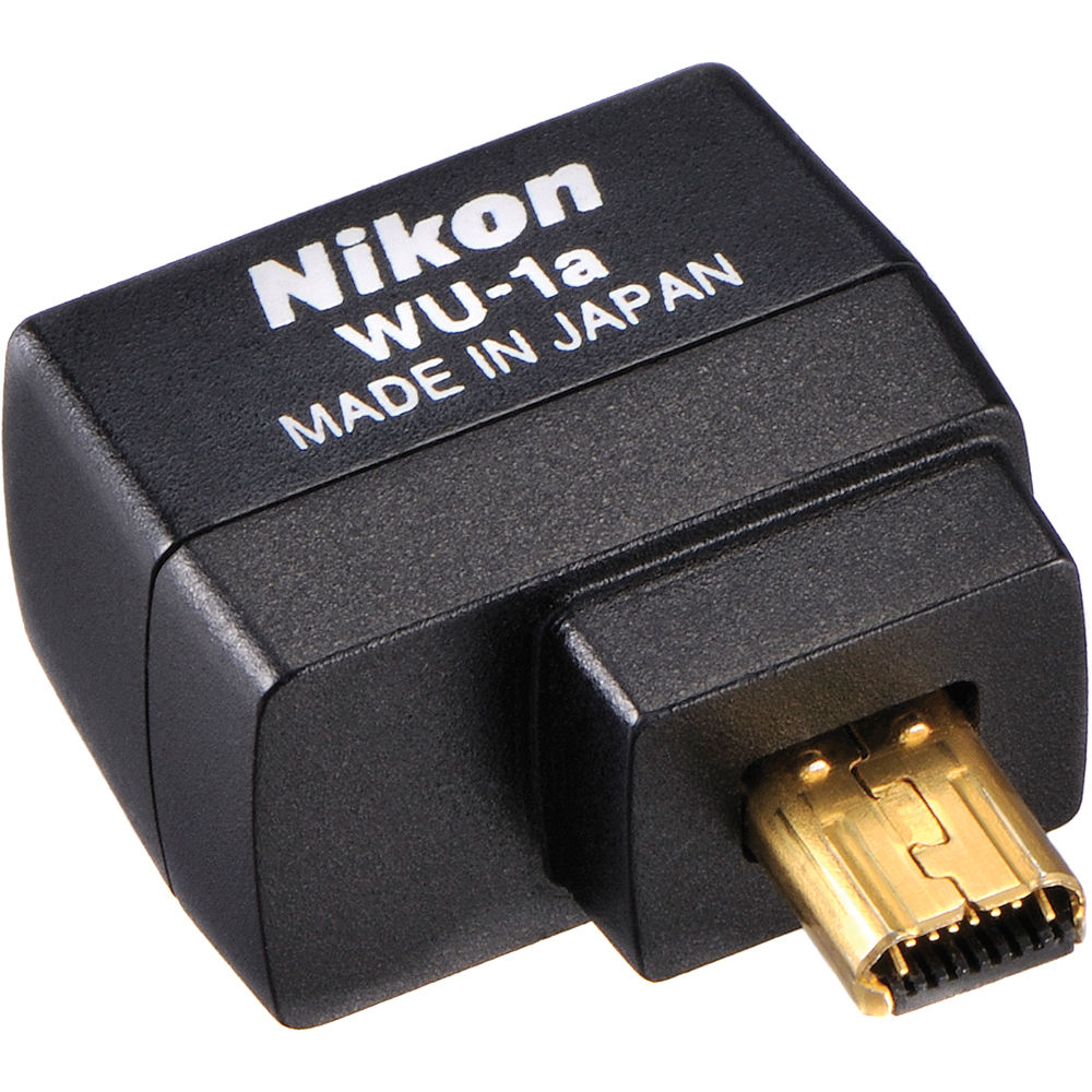 Nikon Wu 1a Wireless Mobile Adapter 27081 Bh Photo Video