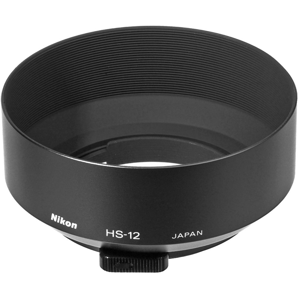 BRAND NEW Nikon HR-2 Rubber Lens Hood for Ai Nikkor 50mm ...