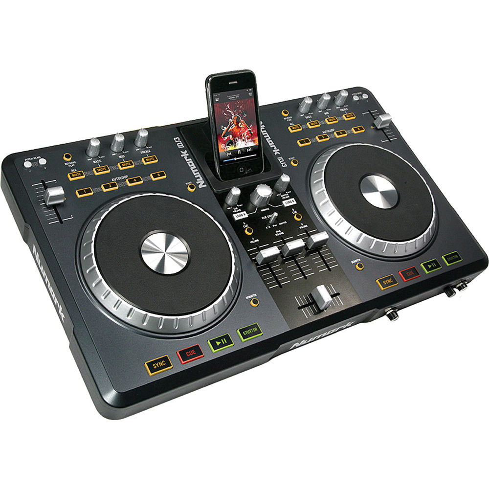 numark idj3 digital dj controller idj3 b h photo video. Black Bedroom Furniture Sets. Home Design Ideas