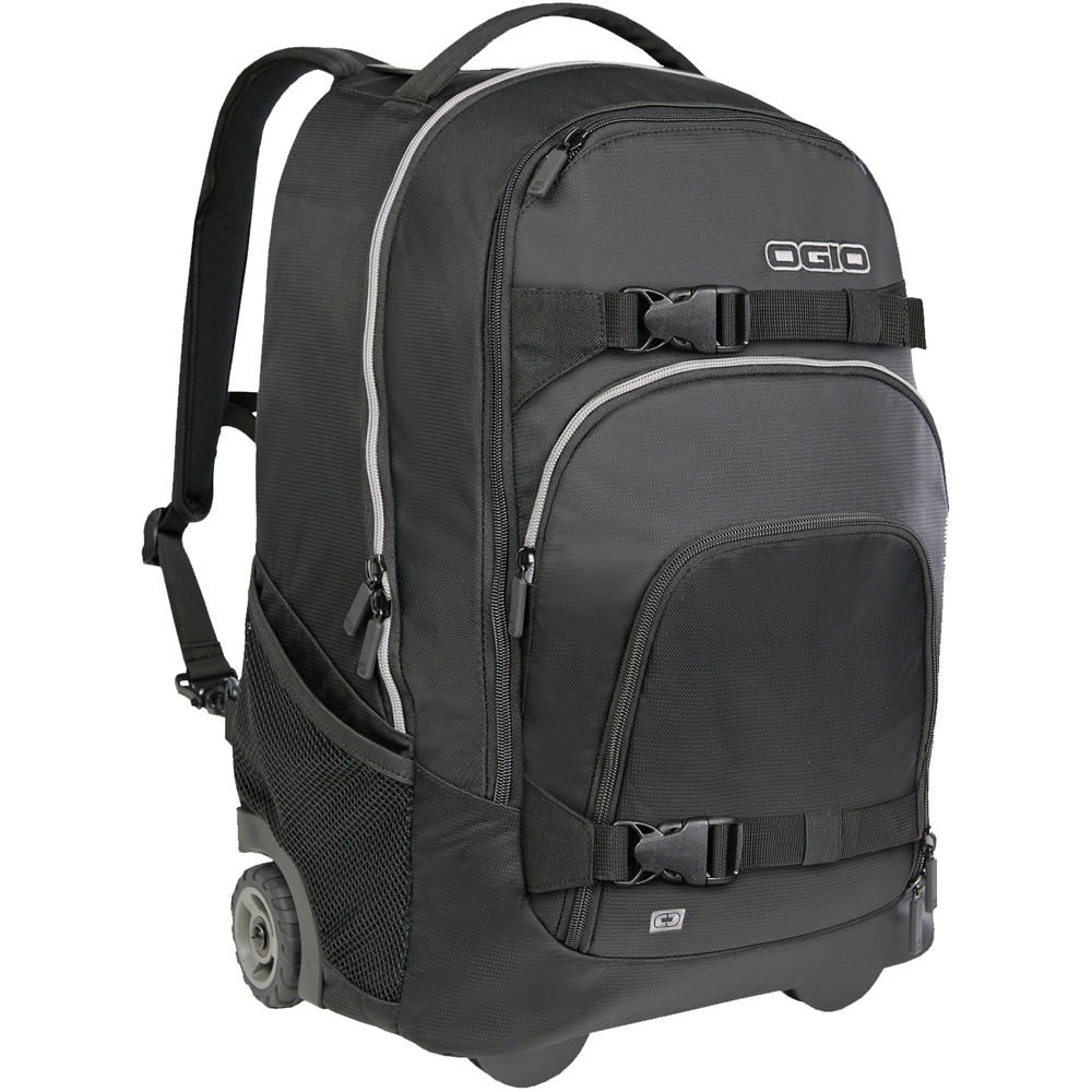 OGIO Phantom Wheeled Backpack (Black Tech) 111041.0356 B&H Photo