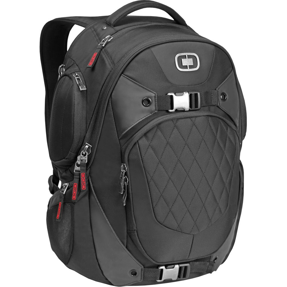 OGIO Squadron RSS II Backpack (Black) 111058.03 B&H Photo Video