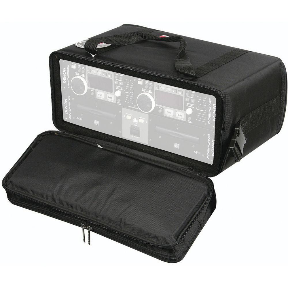 Odyssey Innovative Designs Br412 Bag Style Rack Case Black