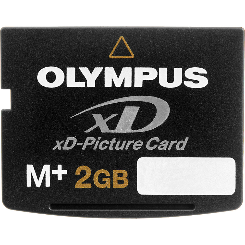Olympus 2gb xd picture card m plus 202332 b h photo video for Carte xd darty