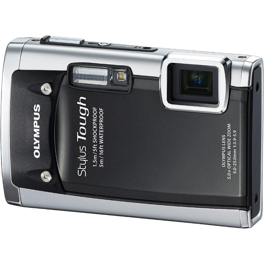 Olympus Stylus Tough 6020 Digital Camera Black