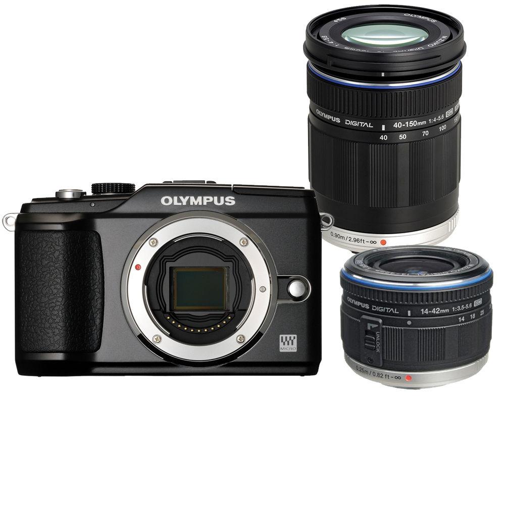 Olympus Digital Camera: Olympus PEN E-PL2 Digital Camera W/14-42mm II & 262902 B&H