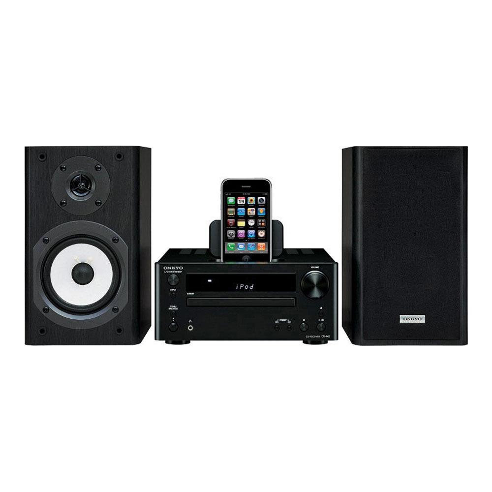 onkyo bookshelf stereo system. ipod, ipad, or iphone not included onkyo bookshelf stereo system k