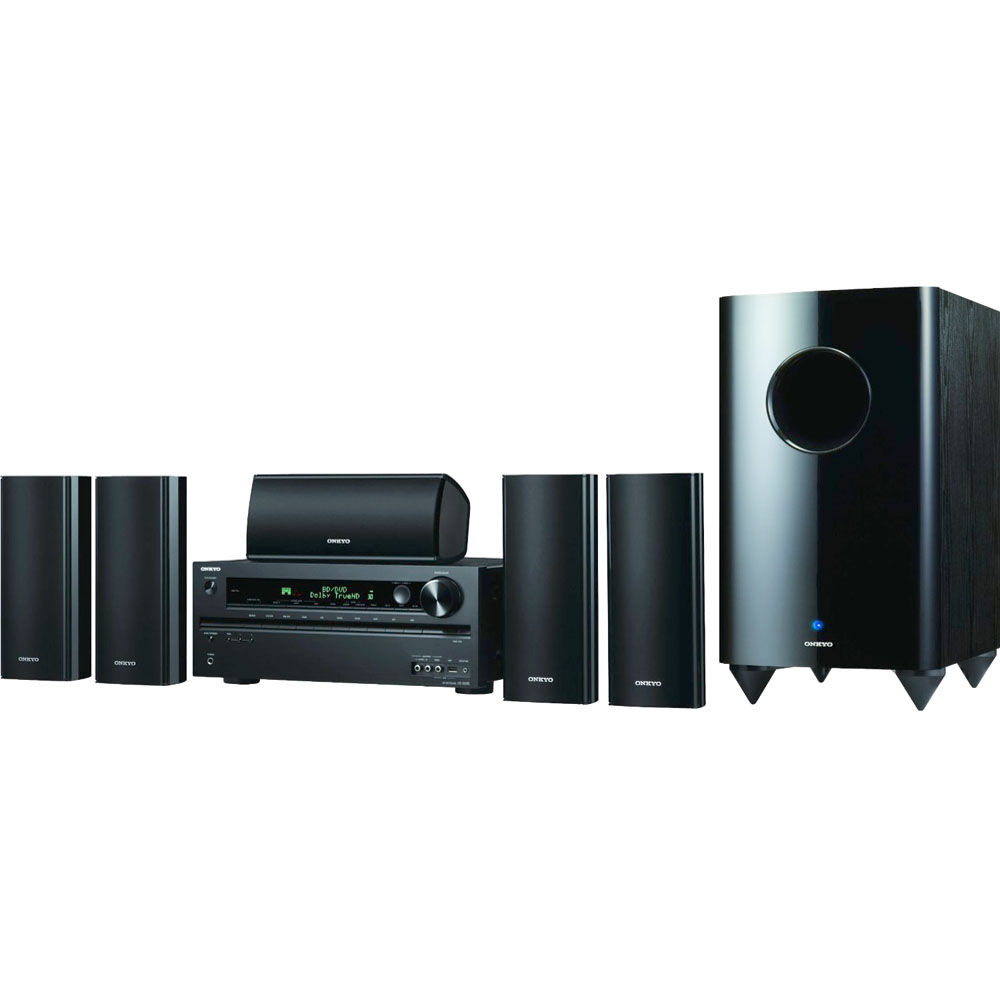 onkyo ht s7400 home theater system ht s7400 b h photo video. Black Bedroom Furniture Sets. Home Design Ideas