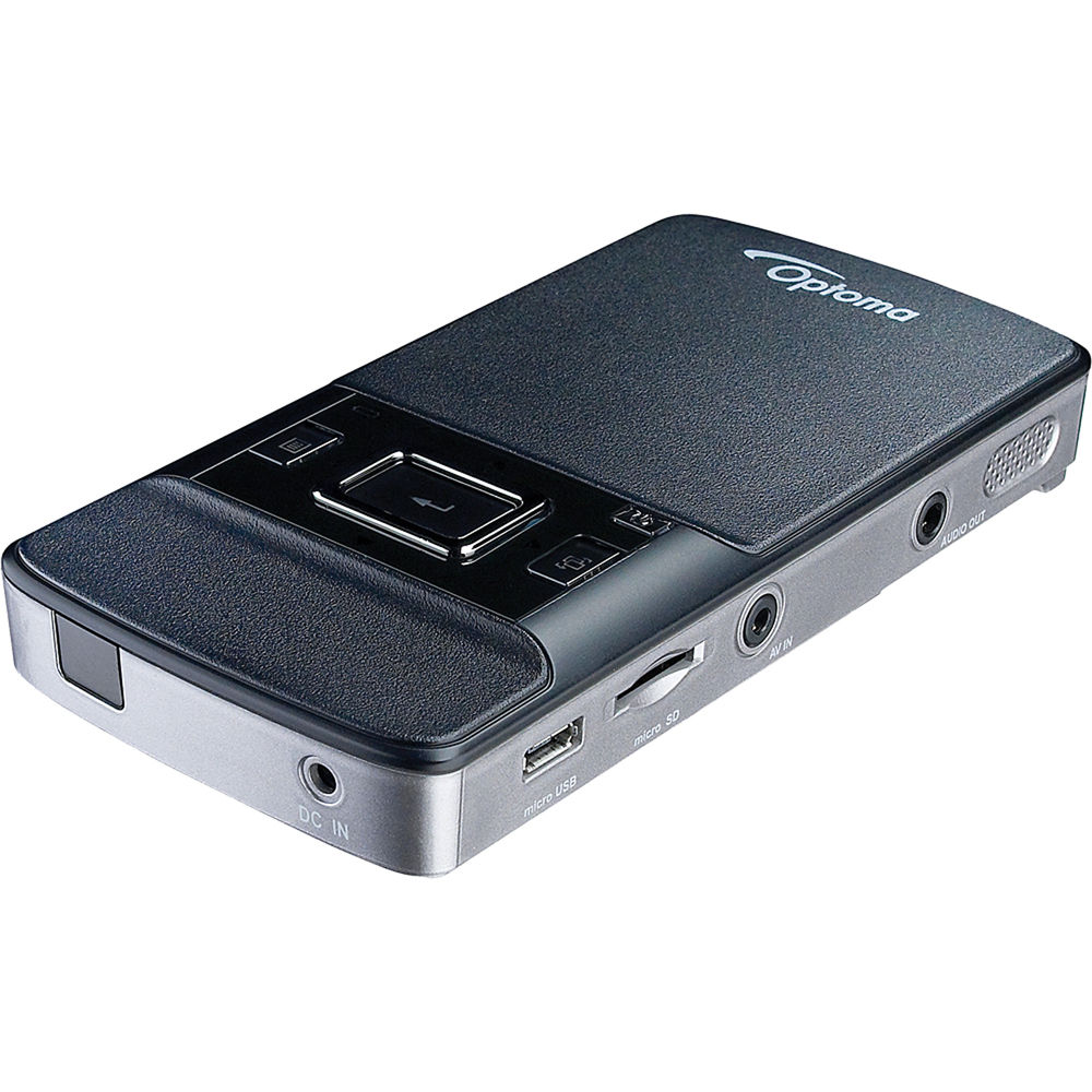 Used optoma technology pk201 pico pocket projector pk201b b h for Used pocket projector