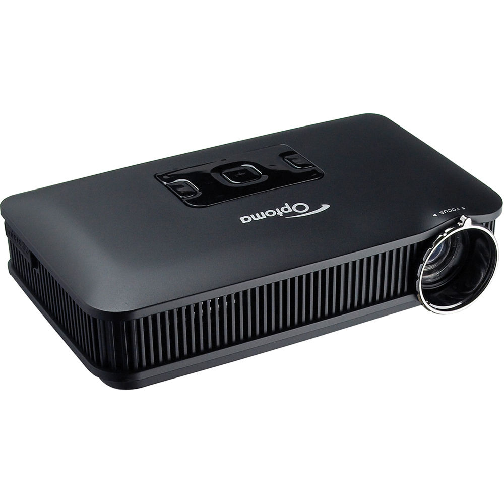 Used optoma technology pk301 pico pocket projector pk301b b h for Used pocket projector