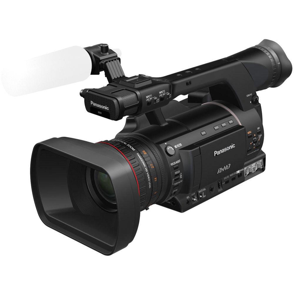 panasonic ag hpx250 p2 hd handheld camcorder ag hpx250pj b h. Black Bedroom Furniture Sets. Home Design Ideas