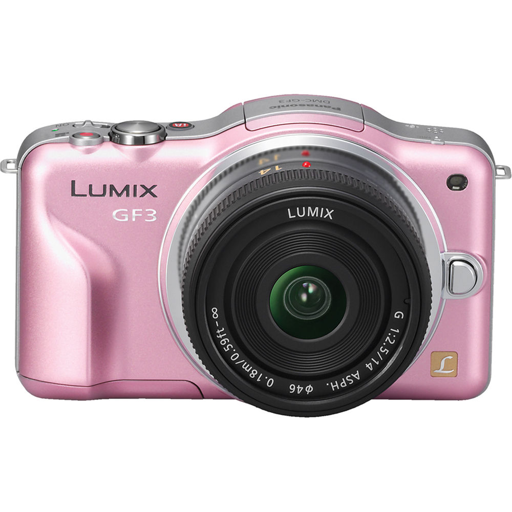 panasonic lumix dmc gf3 digital camera with 14mm lens dmc gf3cp rh bhphotovideo com