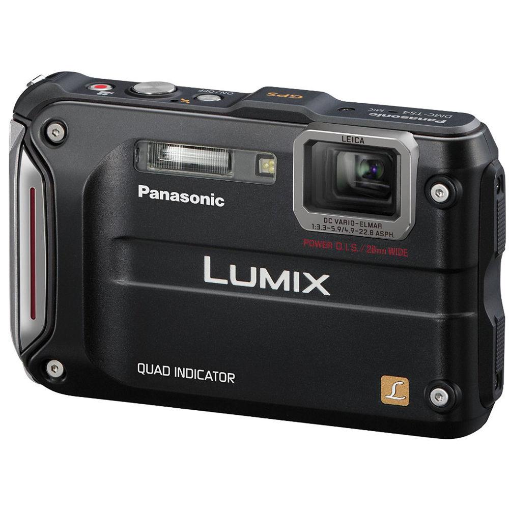 panasonic lumix dmc ts4 digital camera black dmc ts4k b h rh bhphotovideo com