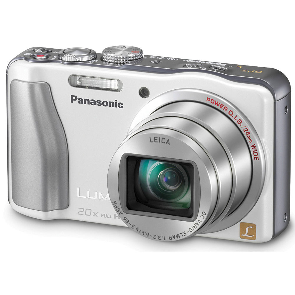 panasonic lumix dmc zs20 digital camera white dmc zs20w b h rh bhphotovideo com Panasonic Lumix DMC ZS19 Panasonic Lumix DMC ZS19