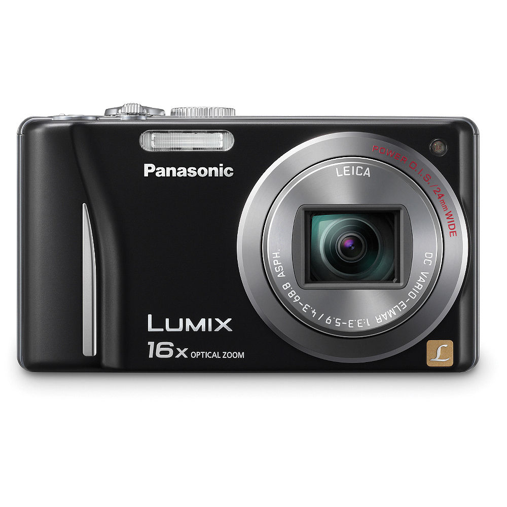 panasonic lumix dmc zs8 digital camera black dmc zs8k b h rh bhphotovideo com  manual de camara panasonic lumix dmc-fz28