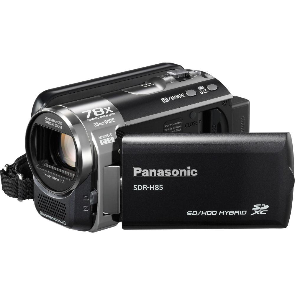 Panasonic SDR-H85 Standard Definition Camcorder (Black)