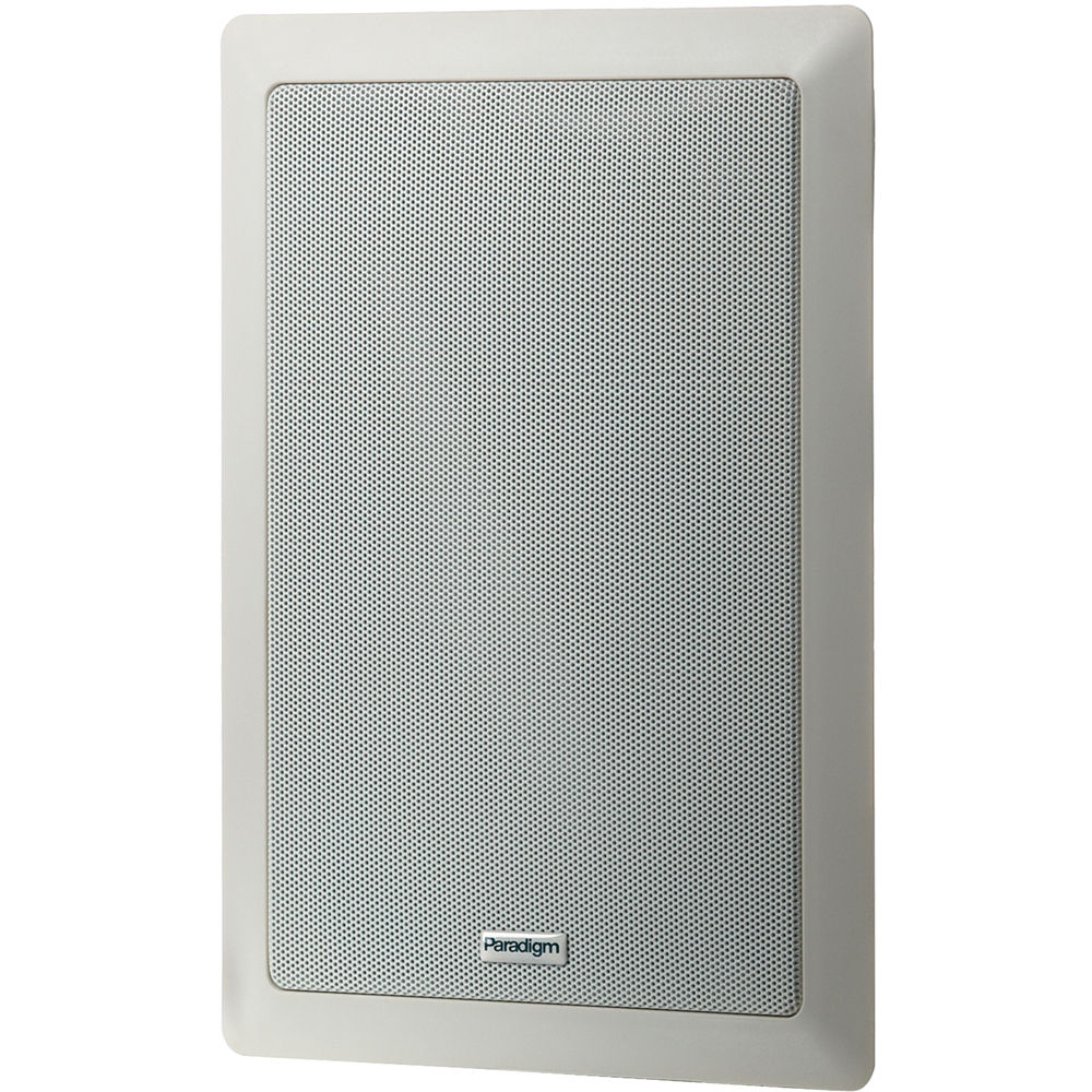 Paradigm Pv 160 In Wall Speakers Pair White 1096161009 B H
