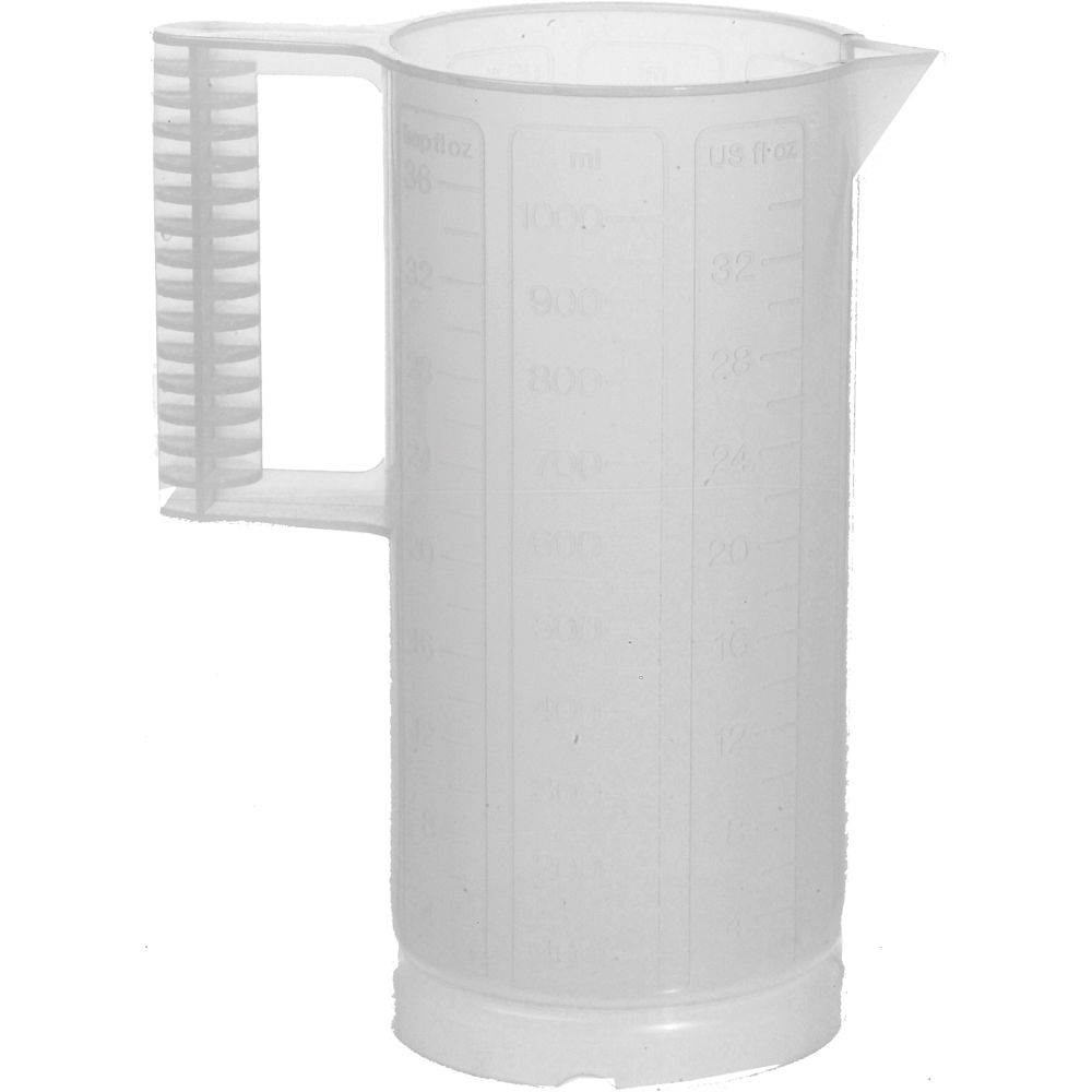 8665f4af9050 Paterson Plastic Beaker (Ounce and Metric Graduations)- 32-oz